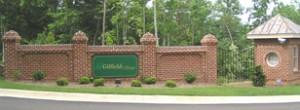 Gilfield Village signage