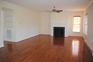 Empty room ready for renovation