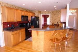 Classic home kitchen